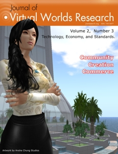 Volume 2, Number 3 - Technology, Economy and Standards in Virtual Worlds